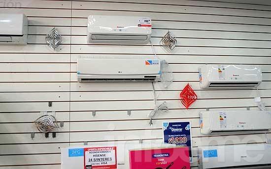 Por el calor, se disparó la venta de aires y ventiladores