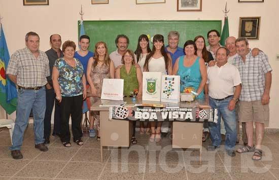 Empresario y dirigente visitó la Sociedad Portuguesa