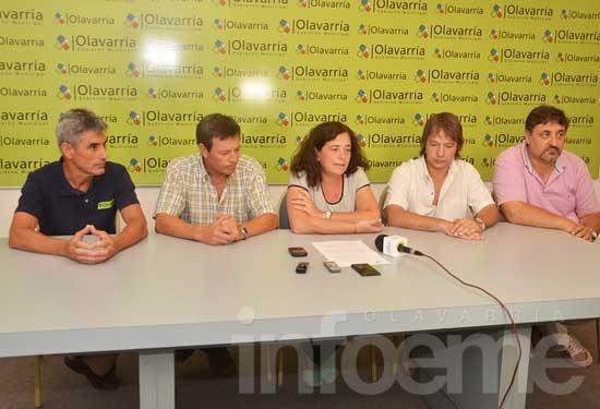 """Se puso la estructura municipal a disposición de bomberos"""