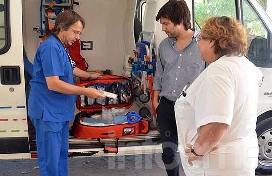 Adquieren aparatología y equipos para ambulancias