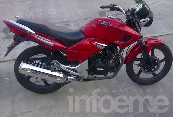 Piden información sobre una moto robada