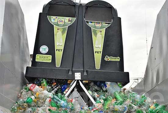 """""""Puntos Verdes"""": Más de 20 mil kilos de plástico recolectados"""