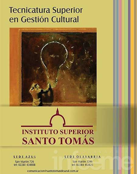 Gestión Cultural: nueva carrera en Santo Tomás de Aquino