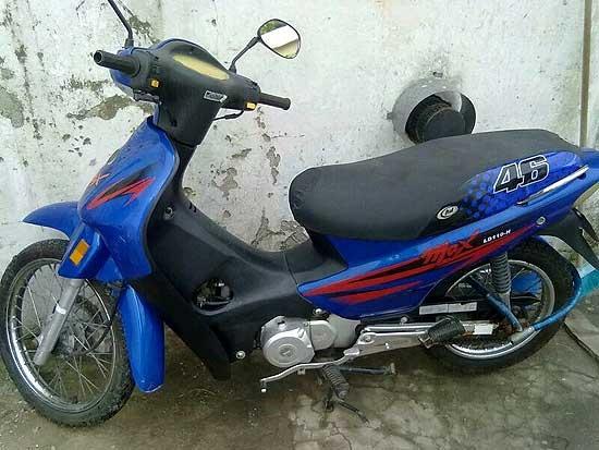 Pedido de información sobre una moto robada