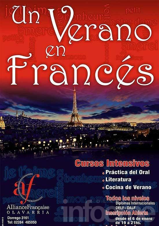 Actividades de verano en la Alianza Francesa
