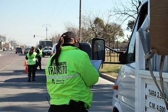 Controles de tránsito: más de 8900 infracciones durante 2013