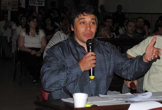 Juan Sánchez asumió como delegado del Ministerio de Trabajo