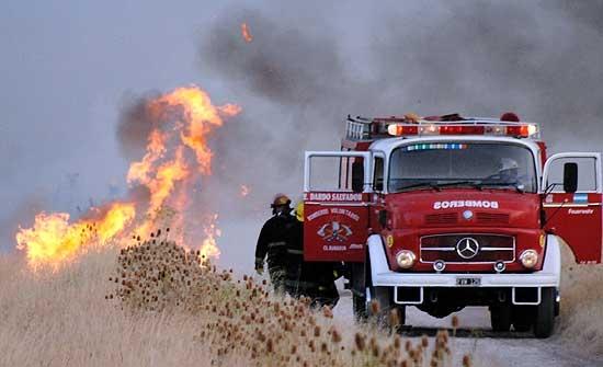 Cerca de 300 hectáreas se quemaron este sábado