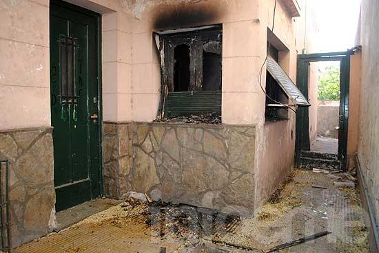Preocupación por incendios intencionales en dos viviendas