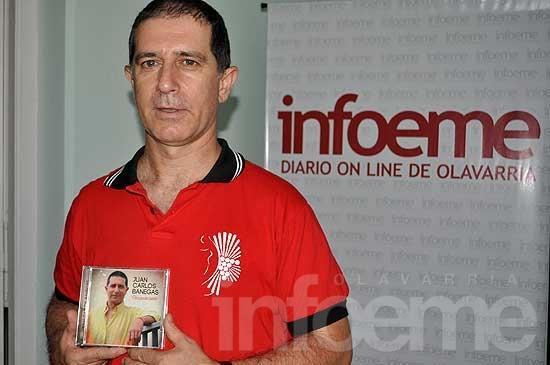 Juan Carlos Banegas presenta su nuevo disco