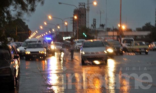 Las lluvias estuvieron 30% por debajo de la media veinteañal