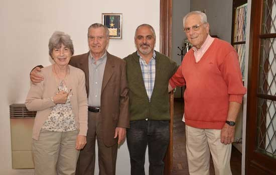 Descubrieron placa en honor al músico José Rossi