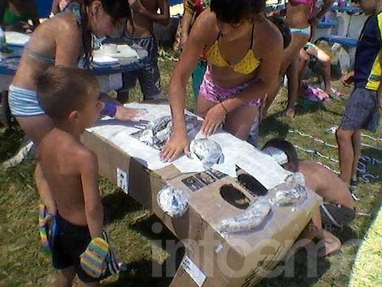 Las Escuelas de Verano se preparan para el carnaval infantil