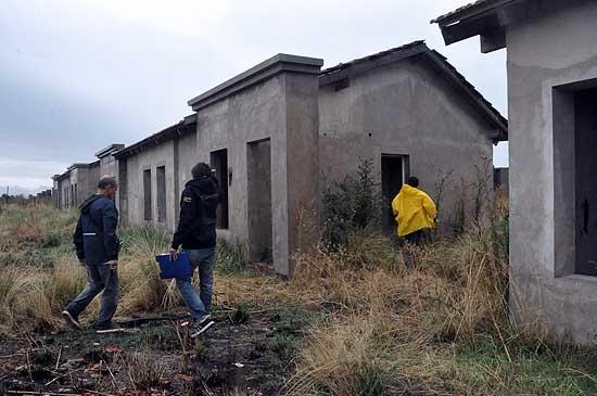 ProCreAr: obras de electricidad en Pikelado y Loma Negra