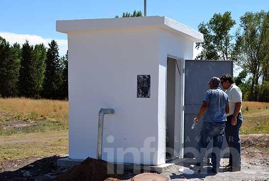 Se libera al servicio público la red de agua en barrio Isaura