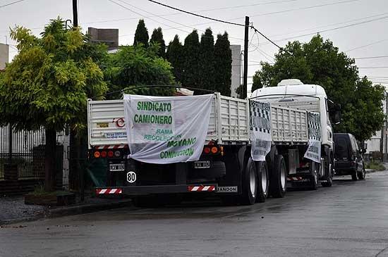 Dictaron la conciliación en el conflicto de camioneros