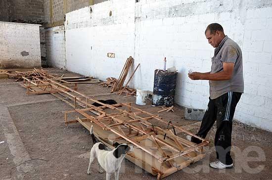 Comenzó la construcción del nuevo momo para los Corsos 2014