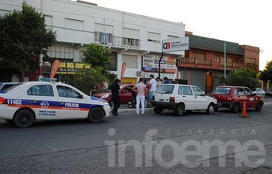 Choque en cadena en avenida Del Valle: un motociclista herido