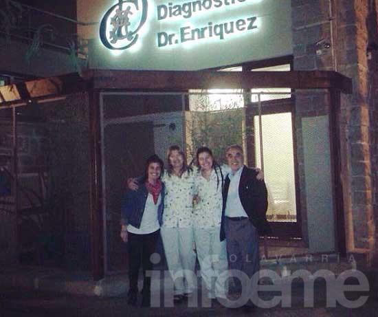 Diagnóstico por imágenes: El Dr. Edgardo Enriquez cambió de sede