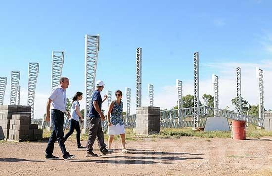 Avanza la ampliación del Parque Industrial