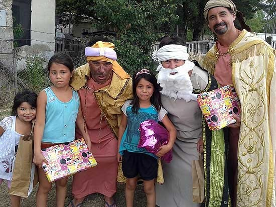 Los Reyes pasaron por Villa Mi Serranía