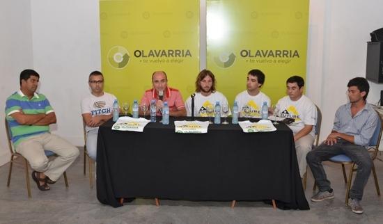 """Tenis: Se presentó el Future 2015 """"Ciudad de Olavarría"""""""
