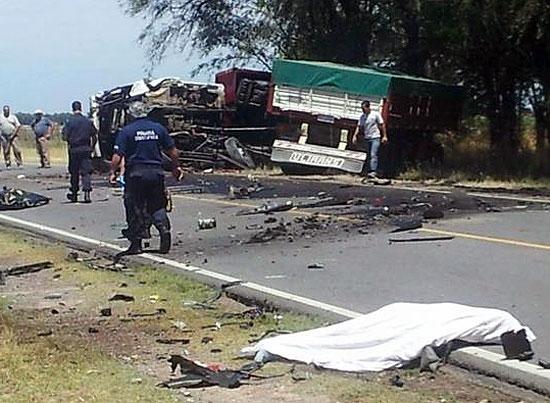 Fatal accidente en Ruta provincial 51 a la altura de Azul