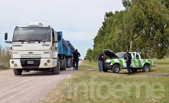 Detectan a otro camión con sobrecarga