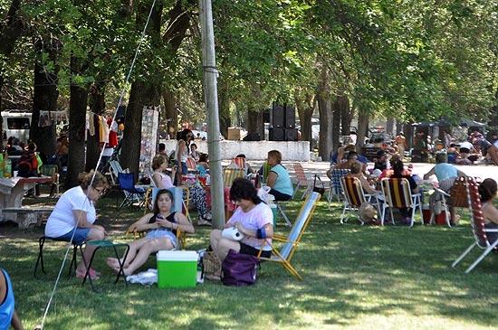 Muchos disfrutaron de la Fiesta Provincial del Camping