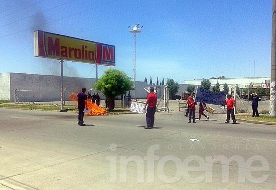Trabajadores se manifestaron en defensa de su fuente laboral