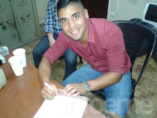 Maximiliano Ferreira se incorporó a Platense