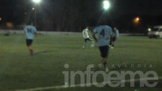 Continúa la acción del papi fútbol de San Martín