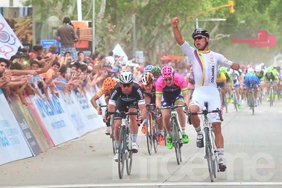 Tour de San luis: Fernando Gaviria se quedó con la primera etapa