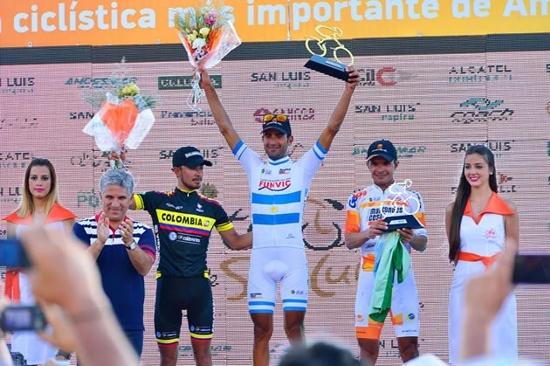 Tour de San Luis: la Etapa 2 fue para Daniel Díaz