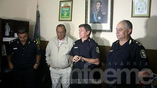 Hernán Aranzábal nuevo jefe de la Policía Comunal