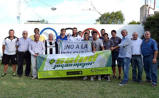 Se presentó el partido entre El Fortín y Estudiantes