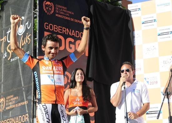 Tour de San Luis: Messineo se metió entre los diez mejores