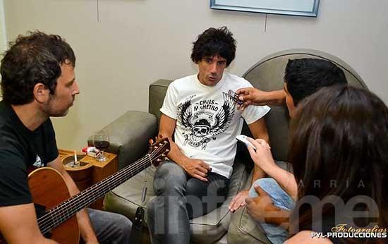 """Guasones tocó en Laprida Rock: """"Creo que vamos a durar 20 años más"""""""