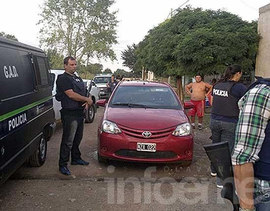 Allanamientos en Olavarría por robos en localidades de la zona