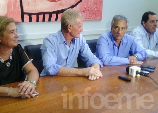 De Narváez está en Olavarría y se reunió con Eseverri