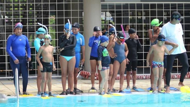 Los encuentros de Natación Infantil siguen sumando a jóvenes nadadores