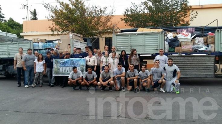 Finalizó la campaña de ayuda a inundados: se completó un camión con donaciones