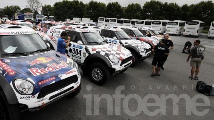 El Rally Dakar está en marcha