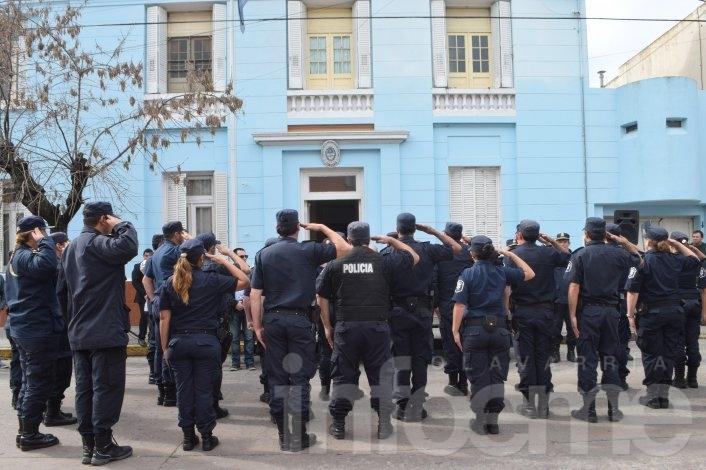 Cambian jefes en tres dependencias policiales de Olavarría