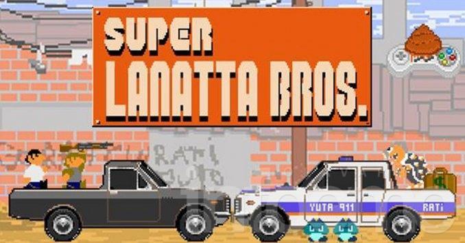 """""""Super Lanatta Bros"""": el videojuego de la fuga"""