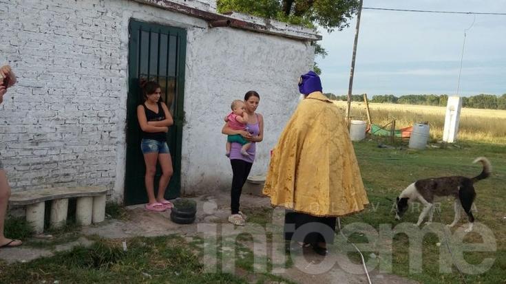 Los Reyes también estuvieron en Villa Mi Serranía