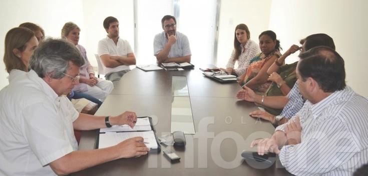 Se reunieron autoridades de Salud Pública de Olavarría y Tandil