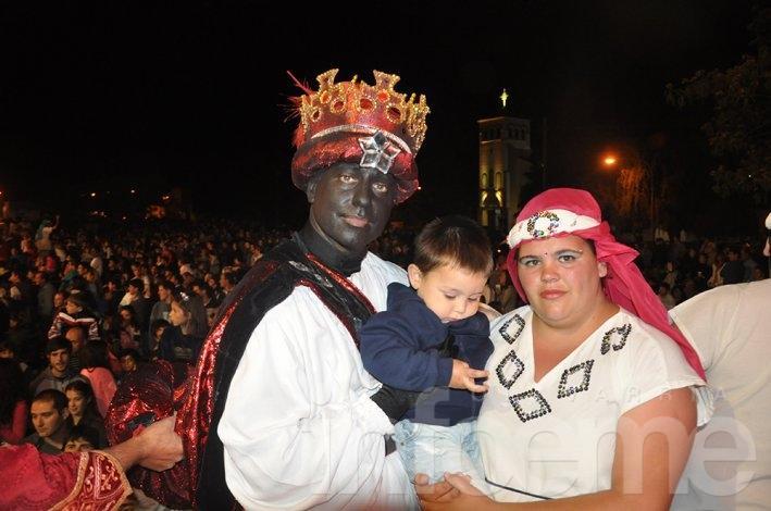 Más imágenes de una noche mágica con los reyes