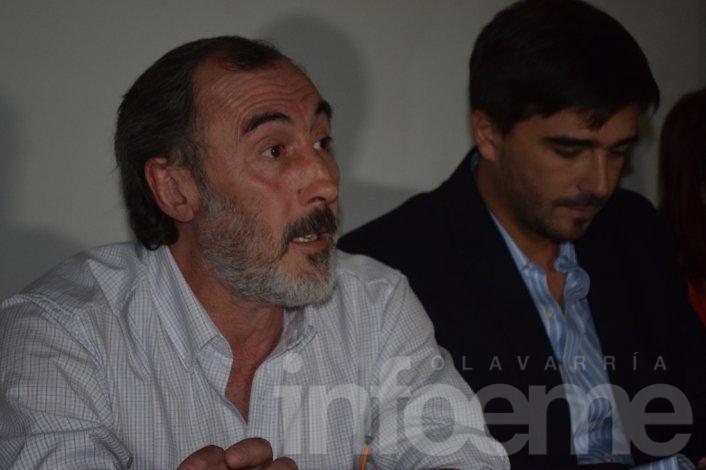 El Intendente Ezequiel Galli presentó el nuevo logo de Olavarría