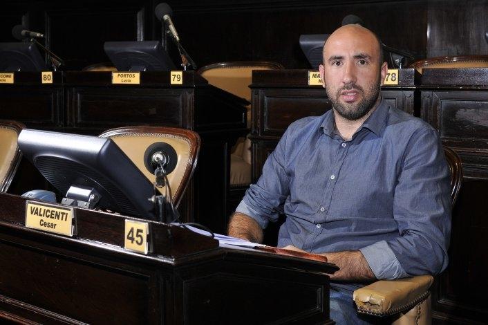 Valicenti participó del encuentro con Salvai por el presupuesto de la provincia